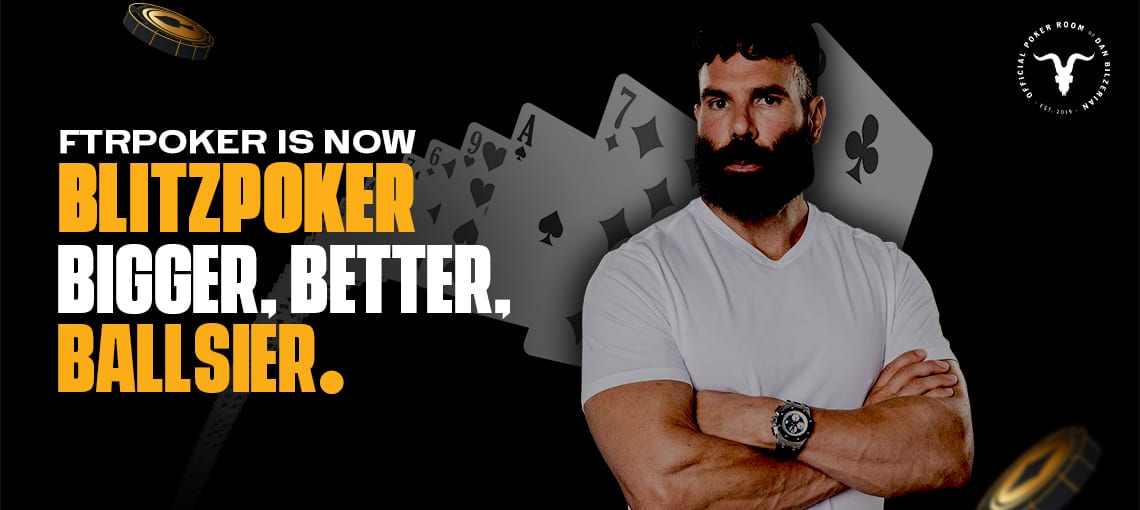 FTR IS NOW BLITZ POKER|BLITZPOKER